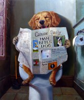 Dog Gone Funny by Julie Heffernan - various sizes - $31.49