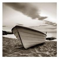 Boat on the Beach Fine Art Print