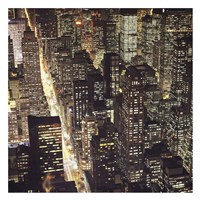 "City Lights by PhotoINC Studio - 26"" x 26"""