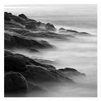 """Rocks in Mist 1 by PhotoINC Studio - 26"""" x 26"""""""