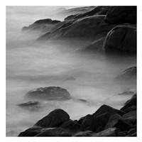 """Rocks in Mist 2 by PhotoINC Studio - 26"""" x 26"""""""