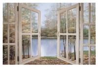 "Autumn Woods by Diane Romanello - 38"" x 26"""
