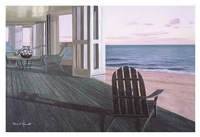 "Beach House by Diane Romanello - 38"" x 26"""