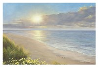 "Beach Serenity by Diane Romanello - 38"" x 26"""