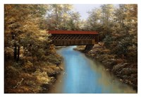 "Covered Bridge by Diane Romanello - 38"" x 26"""