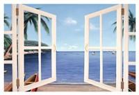 "Day Dreams Window by Diane Romanello - 38"" x 26"""