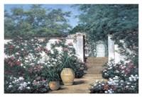 "Jardin de Fleur by Diane Romanello - 38"" x 26"", FulcrumGallery.com brand"