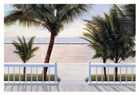 "Palm Bay by Diane Romanello - 38"" x 26"" - $41.99"