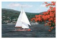 "Sail Away by Diane Romanello - 38"" x 26"", FulcrumGallery.com brand"