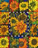 Sunflower Mania Fine Art Print
