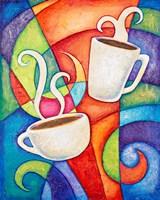 Coffee Date Fine Art Print