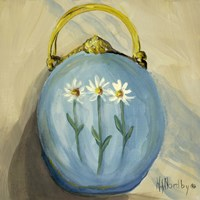 Purse Blue by Harriet Nordby - various sizes
