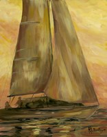 Sailboat 1 Fine Art Print