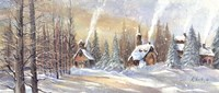 Winter Day by Harriet Nordby - various sizes, FulcrumGallery.com brand