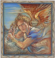 Avenging Angel Fine Art Print