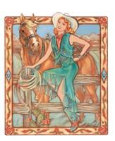 Prairie Rose Fine Art Print