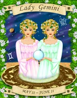Gemini by Sheila Kalisher - various sizes, FulcrumGallery.com brand