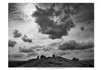 "Hill Top Landscape by Martin Henson - 19"" x 13"""