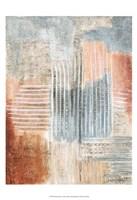 Summer Rust I Framed Print