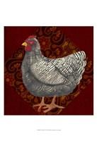 "Yard Bird IV by Grace Popp - 13"" x 19"" - $12.99"
