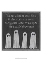 """Spooky Chalkboard II by Grace Popp - 13"""" x 19"""" - $12.99"""