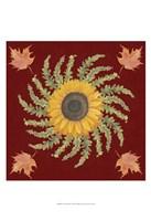 "Autumn Floral I by Grace Popp - 13"" x 19"""
