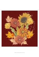 "Autumn Floral II by Grace Popp - 13"" x 19"""