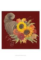 "Autumn Floral III by Grace Popp - 13"" x 19"""