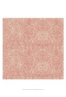 "Downton Damask I by Katia Hoffman - 13"" x 19"" - $12.99"