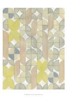Radius Tile I Framed Print