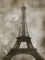 Vintage Eiffel I by Honey Malek - various sizes