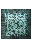 "Antiquity Tiles III by James Burghardt - 13"" x 19"""