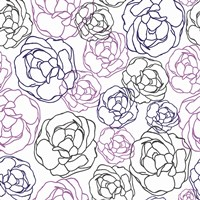Cottage Rose Garden I by Ali Benyon - various sizes