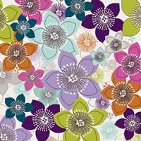Boho Floral I Framed Print