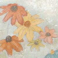 Floral Fresco II Framed Print