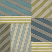 Nautical Stripes II Framed Print