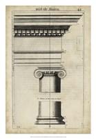Ancient Architecture VI Fine Art Print
