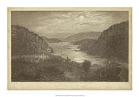 "Harper's Ferry by Moonlight by R. Hinshelwood - 20"" x 14"""