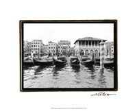"Glimpses, Grand Canal, Venice II by Laura Denardo - 21"" x 17"""