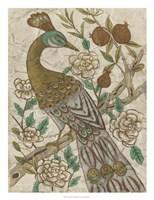 "Chinoiserie Pheasant I by Chariklia Zarris - 20"" x 26"""
