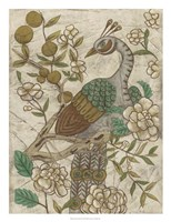 "Chinoiserie Pheasant II by Chariklia Zarris - 20"" x 26"""