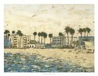 "Beach Coast I by Megan Meagher - 26"" x 20"""