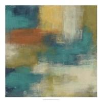 "Blue Note II by June Erica Vess - 20"" x 20"""