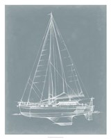 """Yacht Sketches I by Ethan Harper - 24"""" x 30"""""""