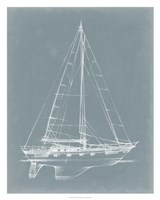 """Yacht Sketches II by Ethan Harper - 24"""" x 30"""""""