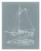 """Yacht Sketches IV by Ethan Harper - 24"""" x 30"""""""