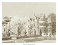 Kirby Castle, Garden View Fine Art Print