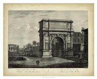 Arco di Tito Fine Art Print