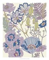"Graphic Garden III by Chariklia Zarris - 18"" x 22"""