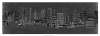 City Sounds at Night Fine Art Print